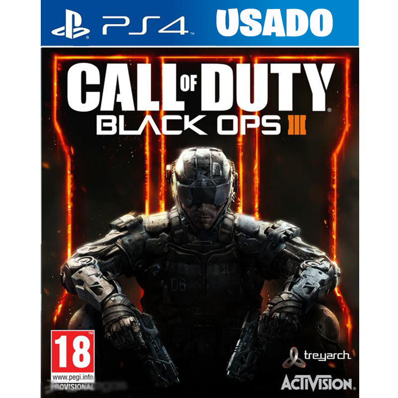 Call of Duty: Black Ops 3 ( PS4 / FISICO USADO )