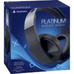Headset Sony PS4 Platinum Wireless