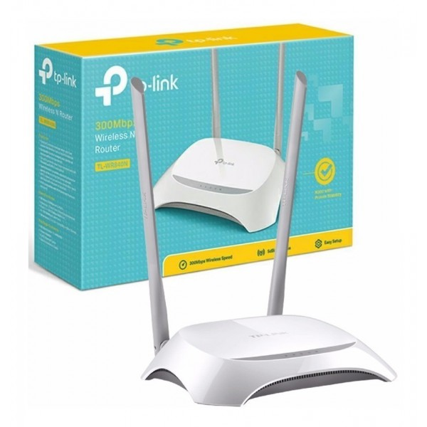 Router Inalámbrico TP-LINK N 300Mbps TL-WR840N