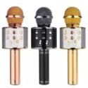 Micrófono Bluetooth inalámbrico de mano USB Karaoke