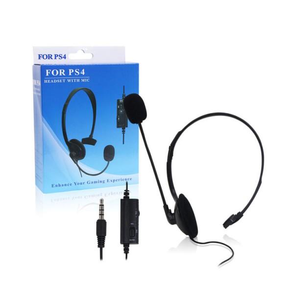 Auricular con microfono un solo lado PS4