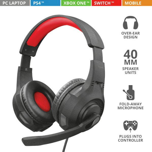 Auricular Hedaset for PS4 Gaming GXT 307 Ravu TRUST
