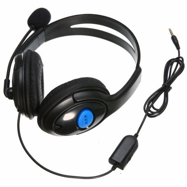 Headset Gaming PS4 Negro