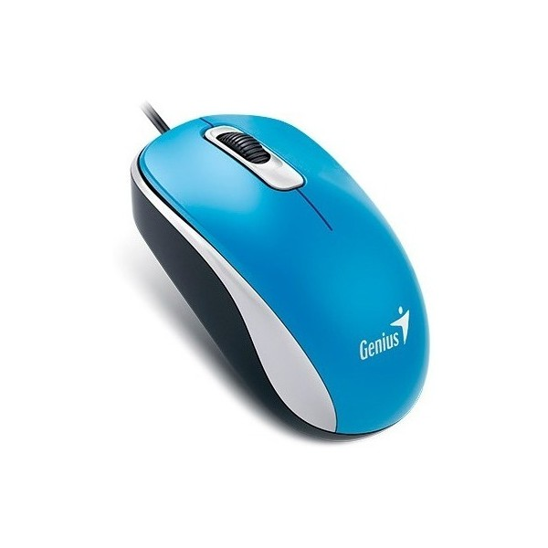 Mouse Dx-110 USB Azul – GENIUS