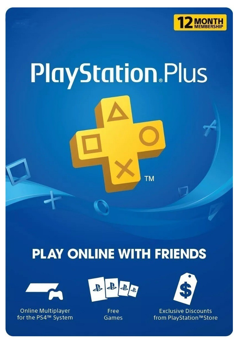 Codigo Playstation Plus 1 Año [USA]