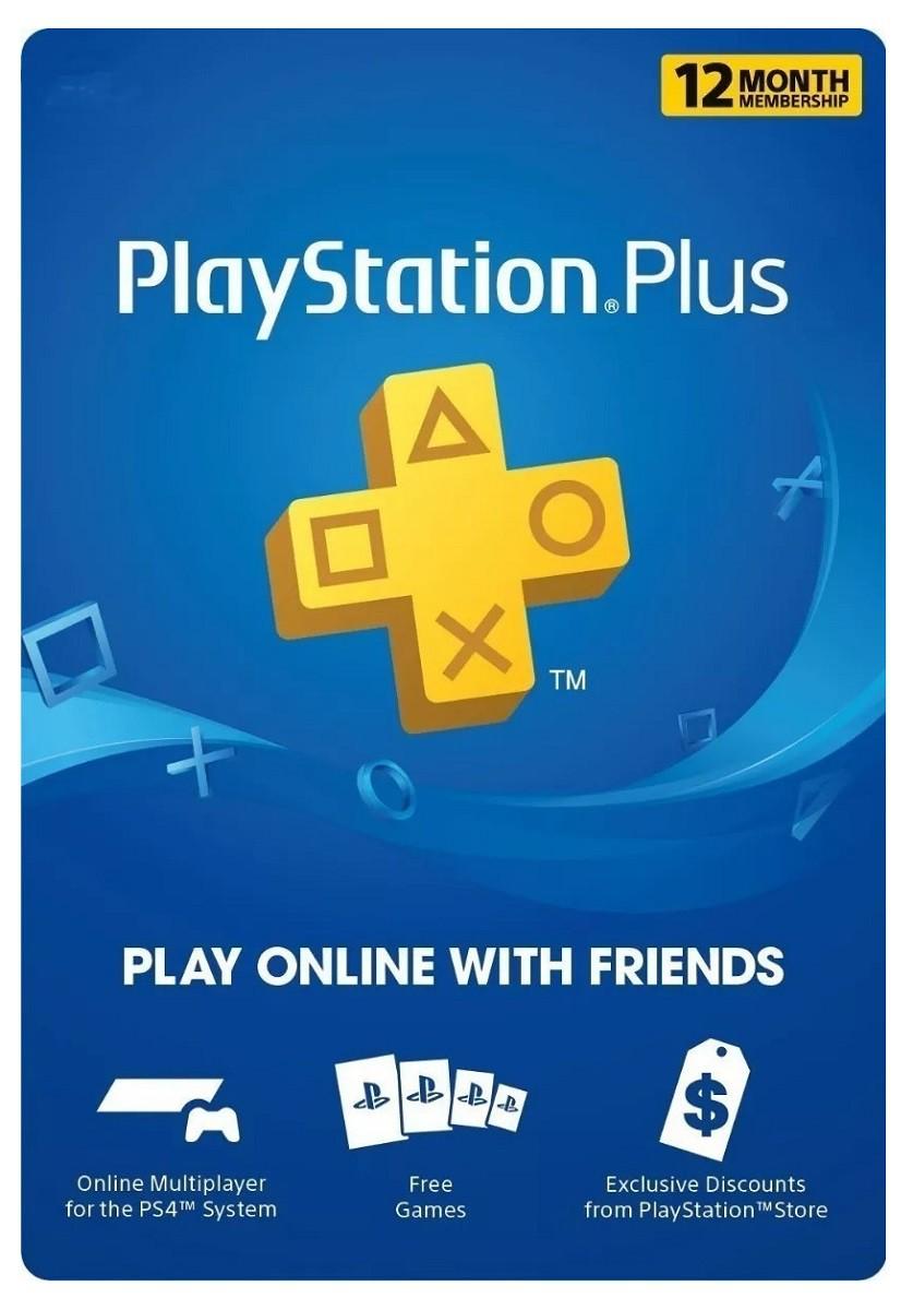 Codigo Playstation Plus 1 Año [USA]