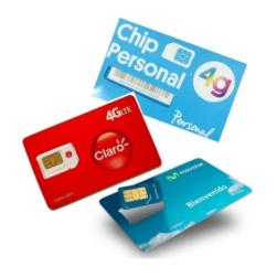 Chip Prepago Micro Nano Sim – MOVISTAR – CLARO – PERSONAL