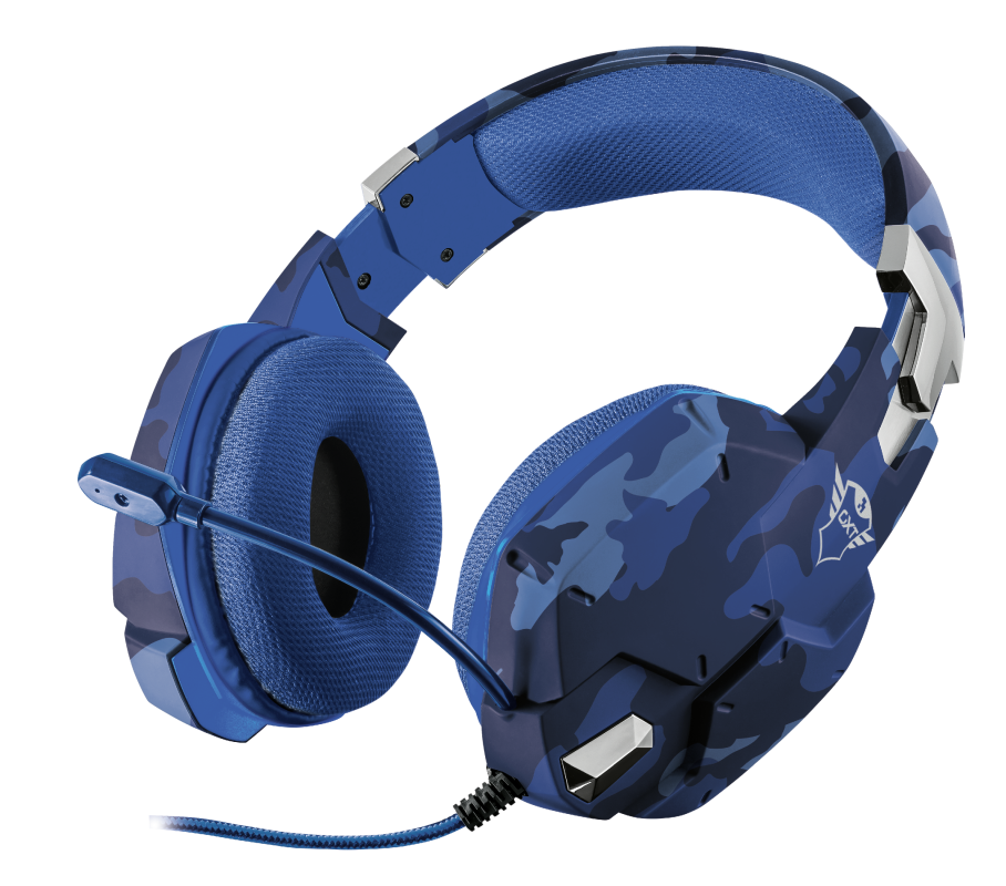 Auricular Headset for PS4 GXT 322B Carus Gaming – TRUST