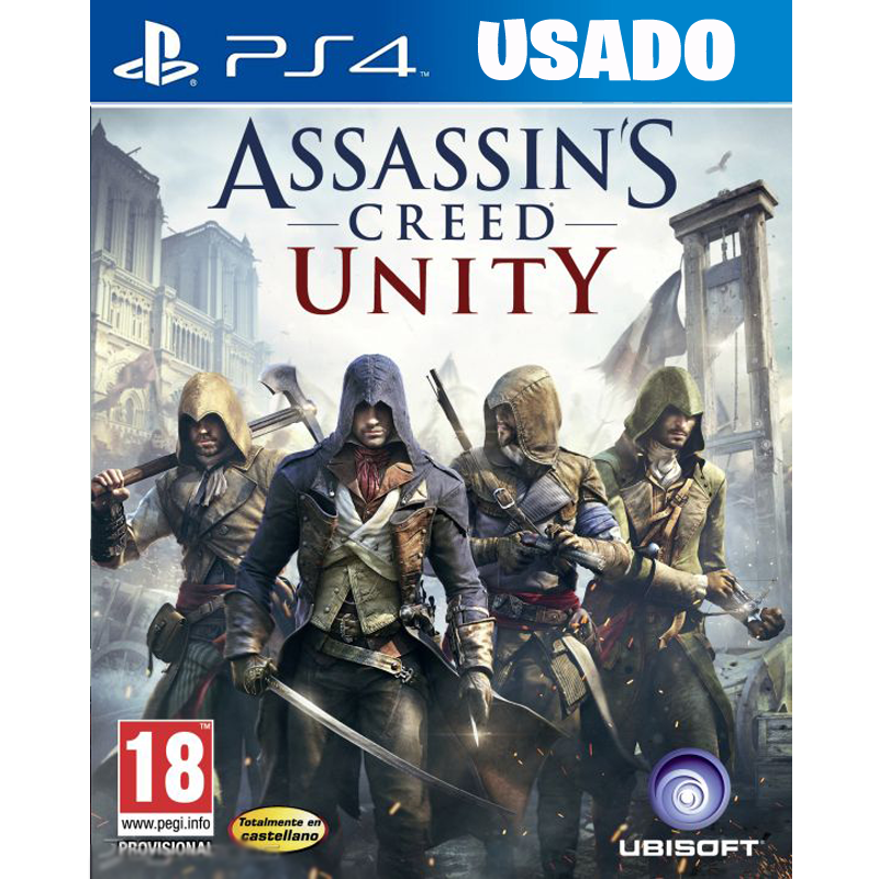 Assassin's Creed Unity ( PS4 / FISICO USADO )