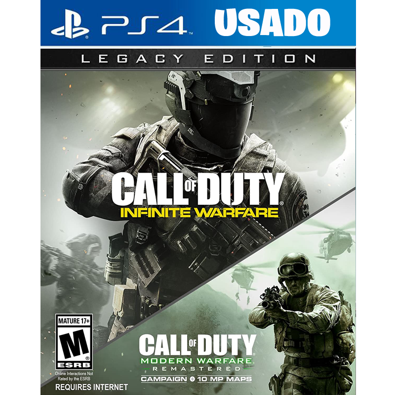 Call of Duty Infinite Warfare LEGACY EDITION ( PS4 / FISICO USADO )