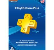 PLAYSTATION PLUS 3 meses (EE.UU)