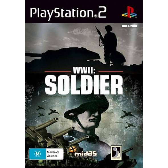Juego PS2 -WWII Soldier
