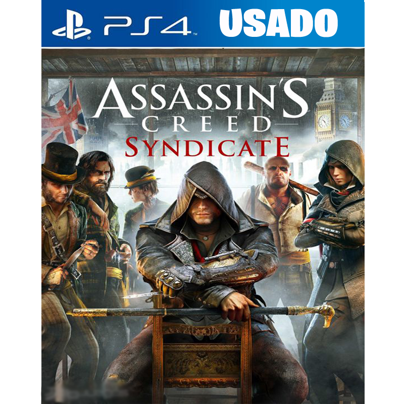 Assassin's Creed Syndicate (PS4 / FISICO USADO )