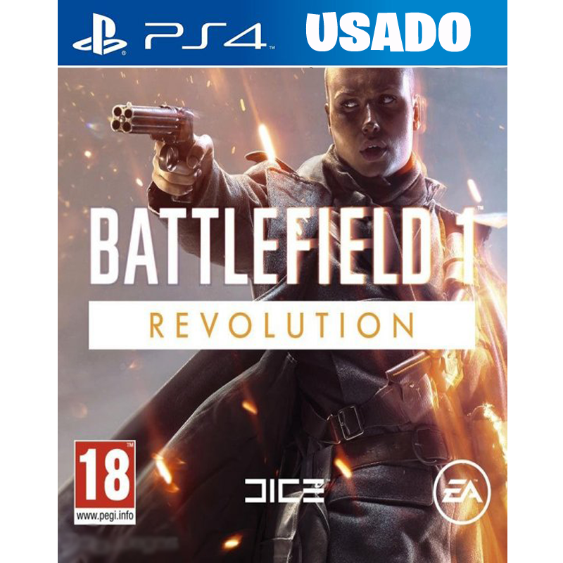 Battlefield 1 Revolution (PS4 / FISICO USADO )