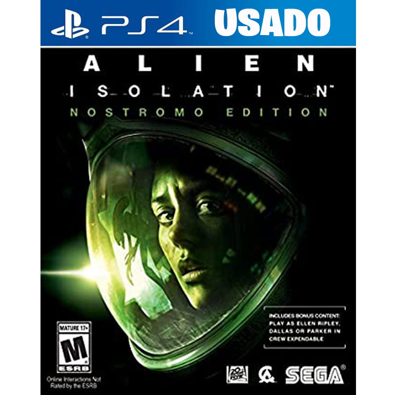 Alien Isolation Nostromo Edition (PS4 / FISICO USADO )