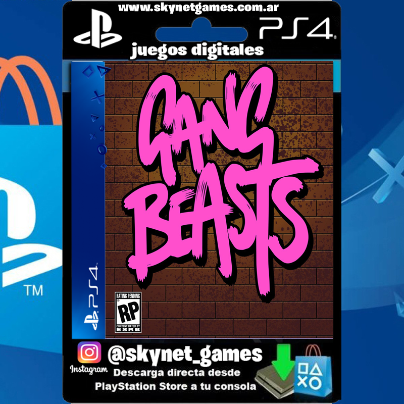 Gang Beasts (PS4 / PS5 DIGITAL ) – CUENTA PRIMARIA