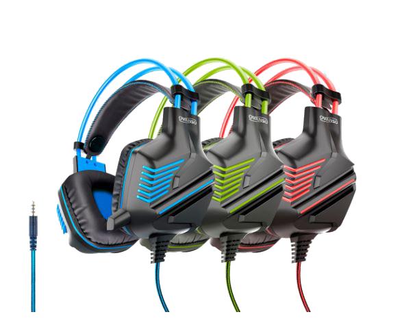 Auricular gaming PS4 tipo vincha con micrófono OSAUG580 – NISUTA
