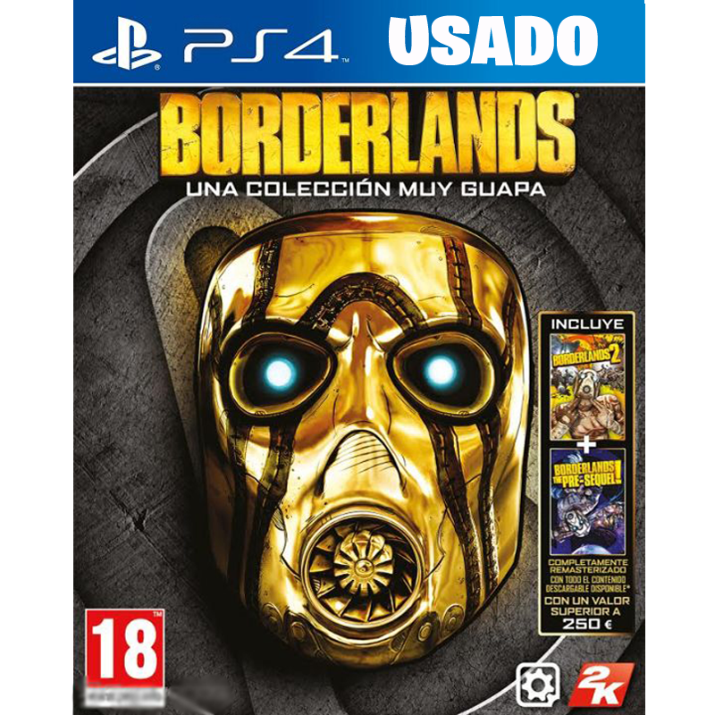 Borderlands: The Handsome Collection  (PS4 / FISICO USADO )