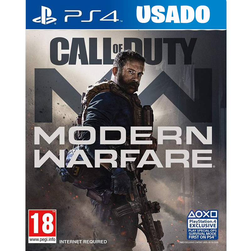 Call of Duty: Modern Warfare ( PS4 / FISICO USADO )