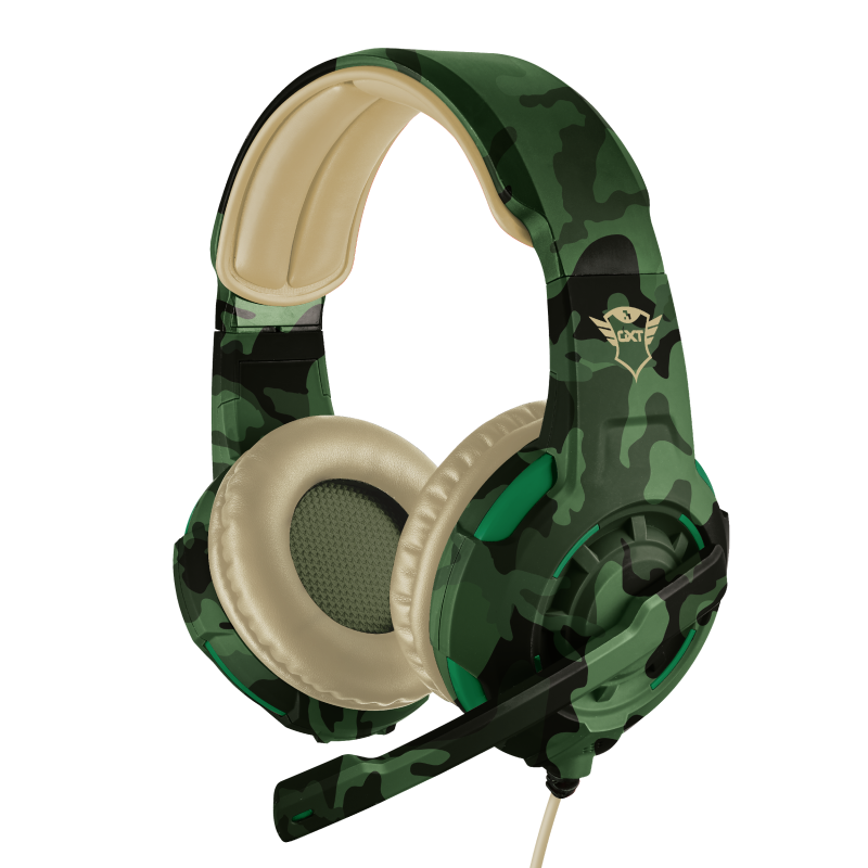Auricular GXT 310 Radius Gaming Headset Jungle Camo PS4 – TRUST
