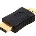 Adaptador HDMI Macho a HDMI Macho