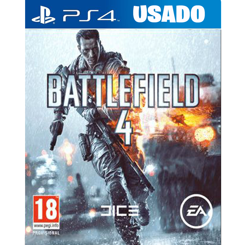 Battlefield 4 ( PS4 / FISICO USADO )