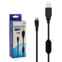 Cable Ps4 Carga Joystick Con Filtro 1.8 Mts