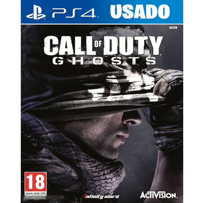 Call of Duty: Ghosts( PS4 / FISICO USADO )