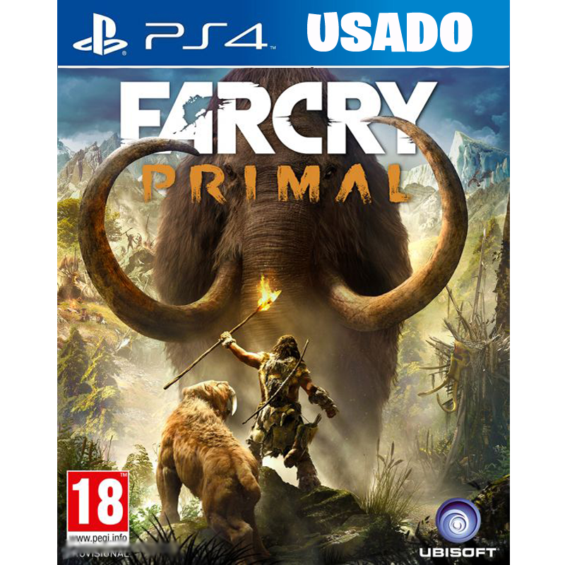 Farcry PRIMAL  (PS4 / FISICO USADO)