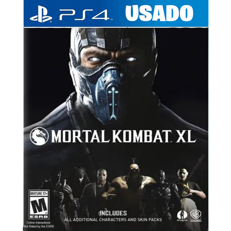 Mortal Kombat XL ( PS4 /FISICO USADO )