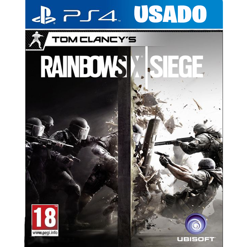 Rainbow Six: Siege ( PS4 / FISICO USADO )
