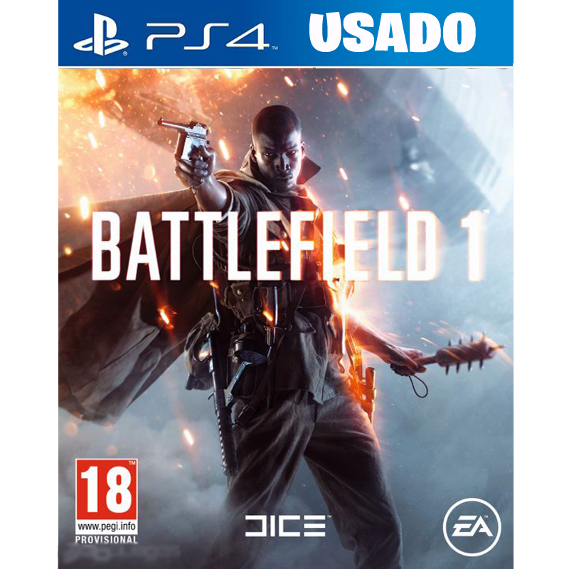 Battlefield 1  (PS4 / FISICO USADO )