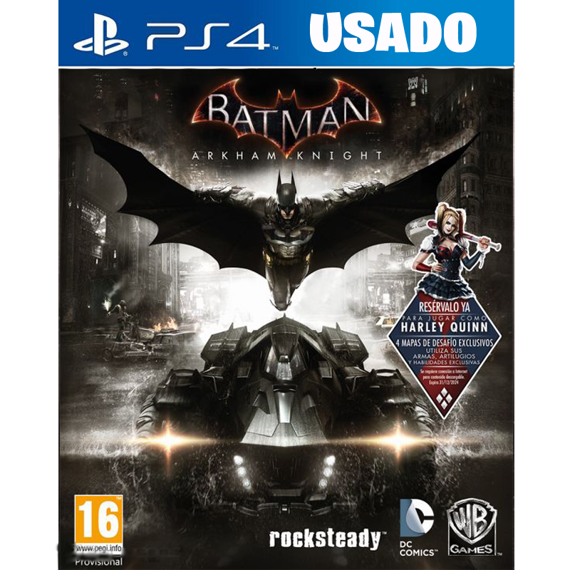 Batman: Arkham Knight (PS4/ FISICO USADO)