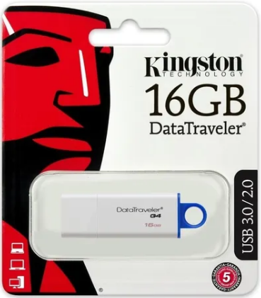 Pendrive Datatraveler G4 ORIGINAL 16gb Usb 3.1/3.0/2.0 – KINGSTON
