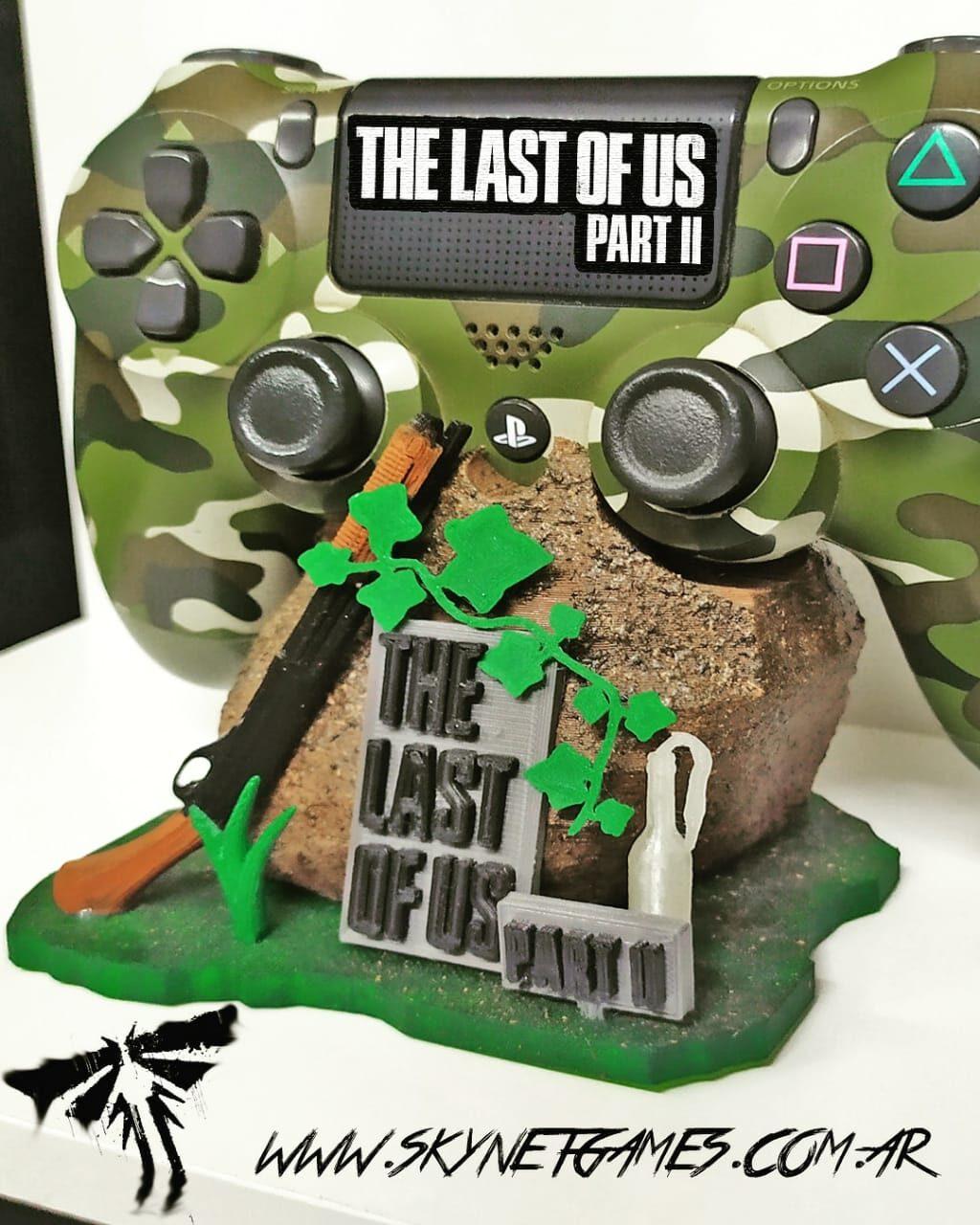 Base de Joystick PS4 THE LAST OF US PARTE 2 – SKYNET GAMES