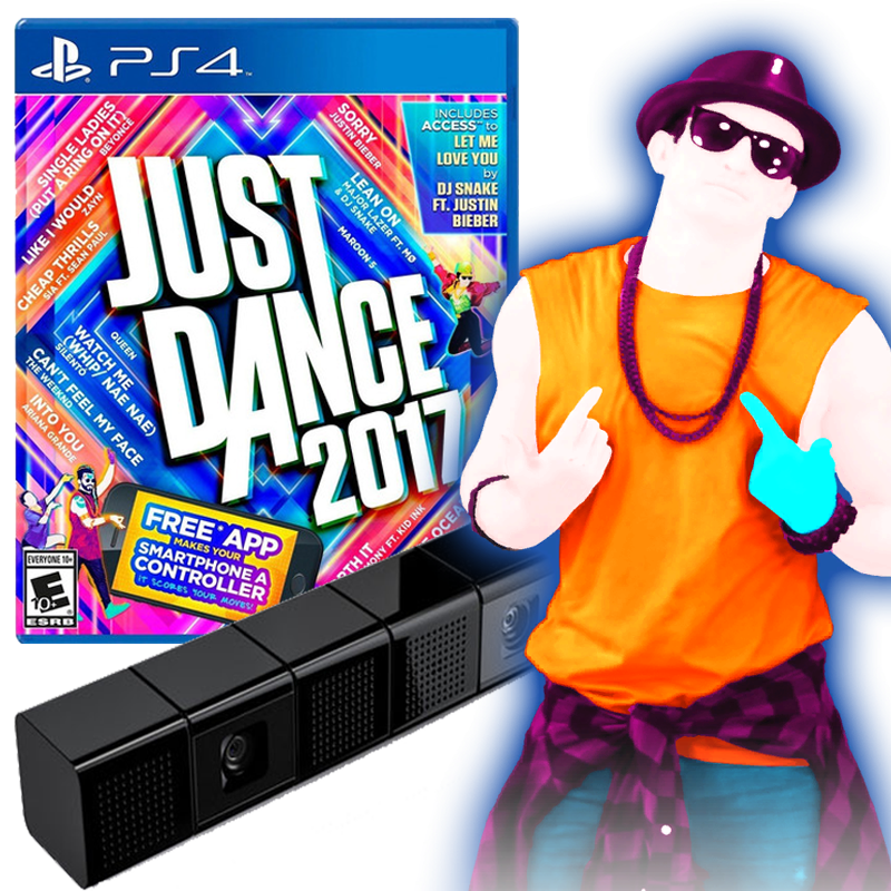 Camara PS4 SONY usada + JUST DANCE 2017 de regalo – SONY